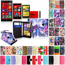 For Various Nokia Mobile Phones PU Leather Book Wallet Case Cover+Guard+Stylus