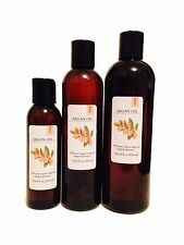100% PURE REFINED MOROCCAN ARGAN OIL ORGANIC COLD PRESSED FROM 4 OZ UP TO 7 LBS