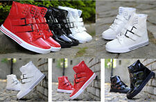 Fashion Men's Casual breathable High Top Sport Sneakers Athletic Ankle Shoes