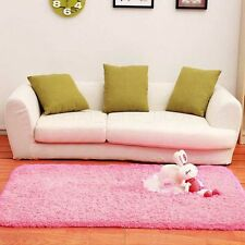 Living/Dining Bedroom Shaggy Mat Rug Pretty Soft Solid Anti-skid Carpet