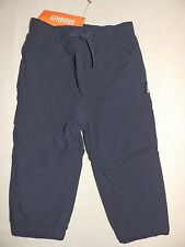 Gymboree WOODLAND PARTY Navy Blue Fleece Lined Pants NWT 12-18 2T boys Active