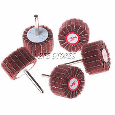 5Pc Frine Grit Fleece Nonwoven Polishing Wheel pad For Rotary Tools-Choose Dia