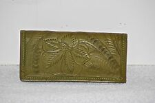 NWT Leaders in Leather Tooled Checkbook Wallet  #0919T in multiple colors