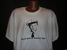 Andy Griffith What Would Barney Do? t-shirt
