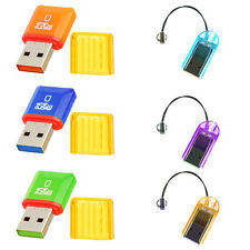 Micro SD Card Adapter Memory Reader Mini T-Flash USB2.0 + (Optional) 8GB card