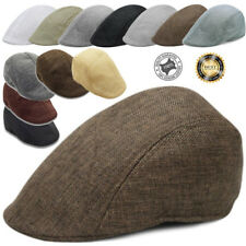 Herringbone Duckbill Ivy Hat Classic Wool Gatsby Cap Golf Flat Newsboy Winter
