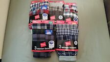 new hanes boys woven boxers 3 pack
