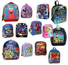 Disney Kids Licensed Preschool Toddler Backpack Bag Princess Cars Toy Story Tink