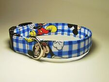 Wet Nose Designs Mickey Mouse Hand Made Dog Collar