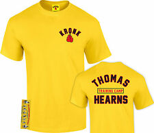 Kronk Boxing Men's Thomas Hearns training camp boxing T Shirt Yellow