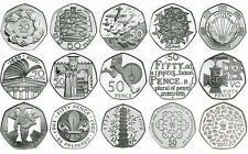Various Commemorative & Regional 50p Coins