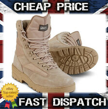 Desert Patrol Boots Half Suede Half Cordura for army cadets Military in sand