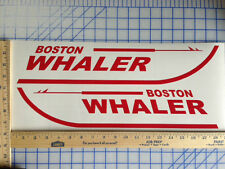 BOSTON WHALER BOAT DECALS 18 COLORS AVAILABLE EMBLEM PAIR HIGHEST QUALITY