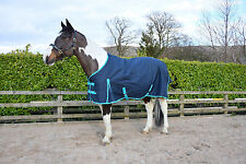 Navy Lightweight Turnout Rug/Rain Sheet - No Fill Horse & Pony Sizes In Stock