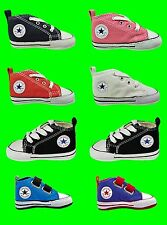 New CONVERSE ALL STAR Trainers Cribs First Shoes Baby Toddlers Infants Size 1-4