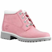 NIB Timberland Classic Nellie Pink Color Leather Waterproof Women's boots -