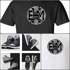 EXCLUSIVE SHIRT TO MATCH NIKE/AIR JORDAN BHM SNEAKERS!