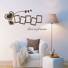 Photo Picture Frames Heart Quotes Vinyl Wall Stickers Home Decal Removable Decor
