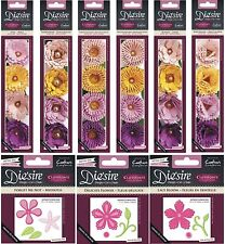 CRAFTERS COMPANION DIE'SIRE QUILLING FLOWERS & 3D FLOWERS CUTTING DIES
