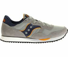 S70124-14 SAUCONY DXN TRAINER GREY/NAVY *NEW IN BOX*