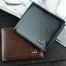 Fashion Classic Luxury Mens Faux Leather Business Wallet Purse Pocket Case Bag
