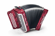 NEW Weltmeister 571 Diatonic Accordion 34 Button Made in Germany Fa Sol Acordeon