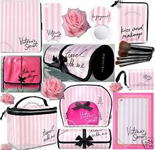 1 VICTORIA'S SECRET VS PINK STRIPE IPAD IPHONE CASE TRAVEL MAKEUP BRUSH BAG ROLL