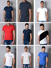 Mens Designer Voi Jeans Summer Smart Polo T Shirt Casual Top Tee Trendy Stylish