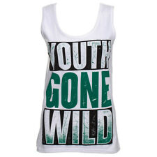 Official Vest ASKING ALEXANDRIA White YOUTH GONE WILD Band Tank Top All Sizes