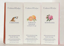 Crabtree & Evelyn Hand Therapy 50g. Gardeners, Rosewater and Tarocco Orange.