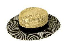 Men's straw gambler hat