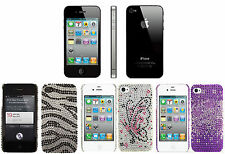 FLEXFIRM APPLE iPHONE 4S CRYSTAL LUXURY DIAMOND CASE DIAMONTE BLING HARD COVER