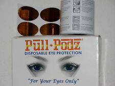 PULL PODZ DISPOSABLE EYE UV PROTECTION EYEWEAR TANNING GOGGLES U-PICK 15-90 PAIR