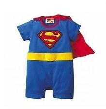 Cute Baby Infant Boys Superman Batman Onesie Romper Party Costume Outfit Clothes