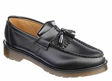 DR MARTENS ADRIAN BLACK MENS POLISHED SMOOTH SHOES BOOTS ORIGINAL TRENDY NEW