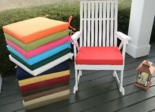 """20""""X20""""X2"""" Foam Cushion Pad for Rocker Rocking Chair  -  SOLID COLORS - Outdoor"""