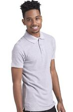 Short Sleeve Pique Polo Shirts Mens Womens Unisex 100% Cotton Golf Shirts S-2XL