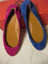 Tory Burch Holliday Suede Flats Sz6 $195