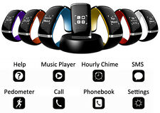 L12S Universal Bluetooth 3.0 Smartwatch With OLED Touch Android and Iphone