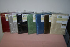 "Window Valance Assortment 60"" x 19"" New in Pack You Choose Color (5 Choices) WOW"