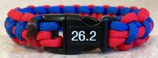 CHICAGO MARATHON 2015~Stylish 2 Color Thin Survival Bracelet~550 Paracord~Donate