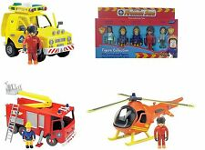 Fireman Sam Toy Fire Engine Rescue Vehicle Helicopter Figures Playset New 3+