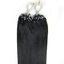 "20"" Indian Premier Remy Loop Micro Ring 100% Human Hair Extensions AAA* UK"