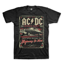 AC/DC Speed Shop Highway To Hell T-Shirt New Authentic Rock Tee S-6XL