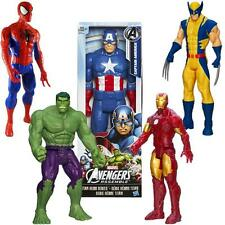 "SPIDERMAN IRONMAN CAPITAN AMERICA WOLVERINE TITAN HERO 30 CM 12"" ACTION FIGURE"