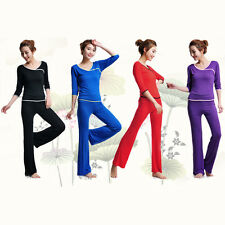 Women Clothing Yoga Costume Home Dancing Exercise Clothes Lady Suits 2 Piece Set