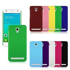 Hard Rubberized Matte Plastic Snap-On Back Cover Case for Alcatel Smart Phone