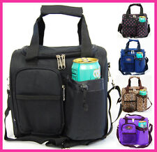 Insulated Lunch Bag Men's Women's Long Shoulder Strap Soft Lunch Box Large Size