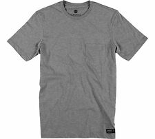 Elemento di base CR Tasca T-Shirt manica corta in Onyx Heather