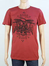 New Duck & Cover mens M L XL XXL red crew neck t shirt